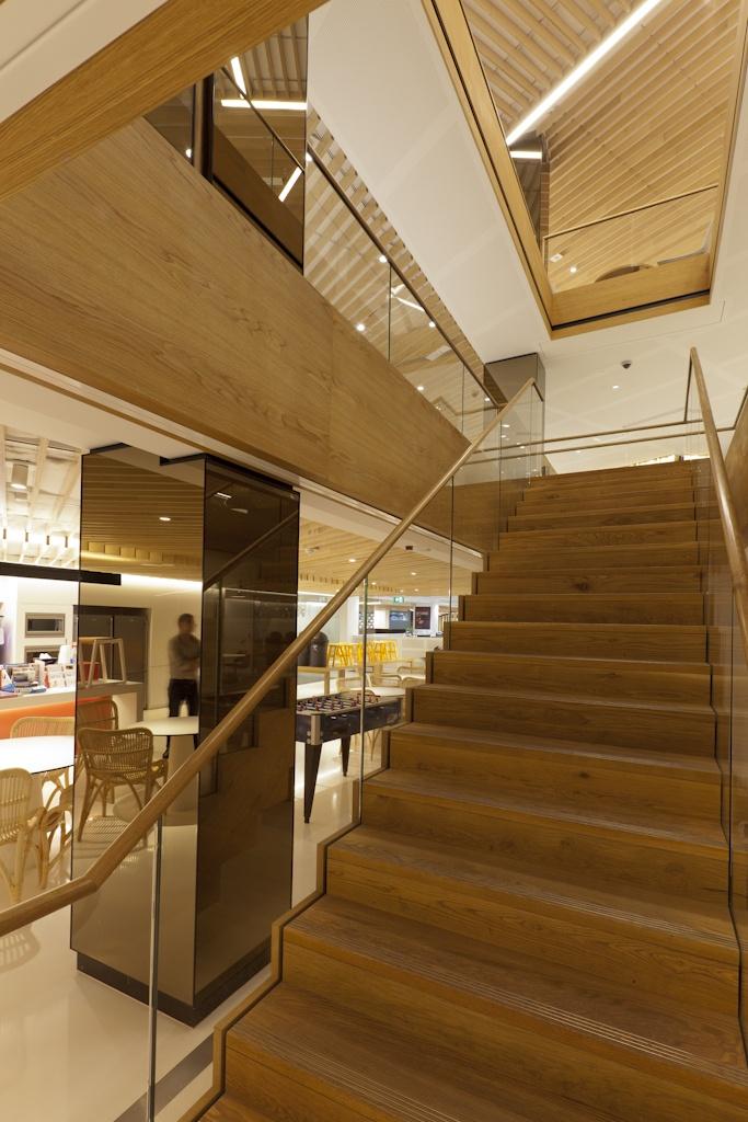 Best Westfield Design Construction Head Office Staircase 400 x 300