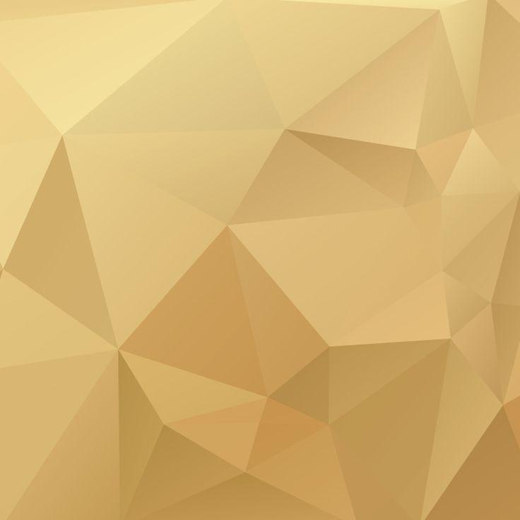 Gold Poylgon Background | Freemocks.com