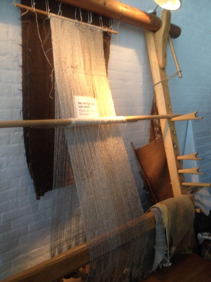 Weaving sails...