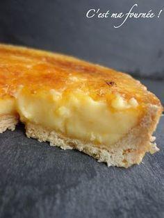 La fantastique tarte à l'orange caramélisée de Christophe Felder...: