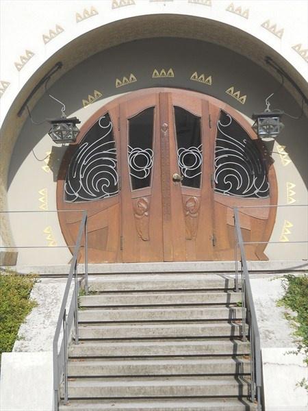 Jugenstil Doorway (Art Nouveau) Doorway In The House Built In 1901 For The  Glückert