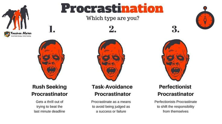 What type of Procrastinator are you? #procrastination #procrastinating #procrastinationnation #productivity #productivitytips #zombie #zombienation