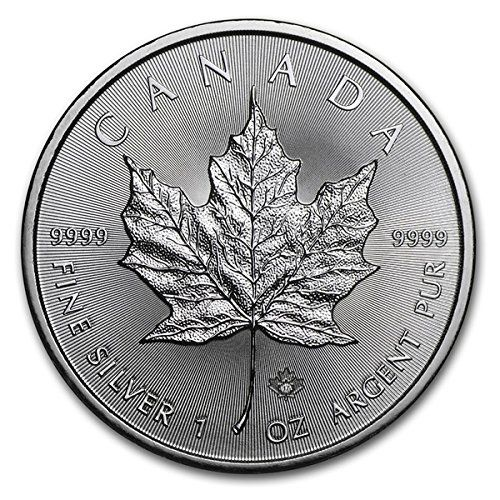 The Silver Canadian Maple Leaf bullion coin. First minted in 1988, the silver Maple Leaf is now one of the more popular members of the Canadian Maple Leaf family of bullion coins…besides silver, one-ounce Maple Leaf coins are also produced by the Royal Canadian Mint in gold, platinum and... http://darrenblogs.com/us/2017/11/28/2017-ca-canadian-1-oz-silver-maple-leaf-coin-9999-5-brilliant-uncirculated-new/
