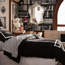 Dorm Room Ideas For Girls | PBteen | Black and white themes #shopstudioc