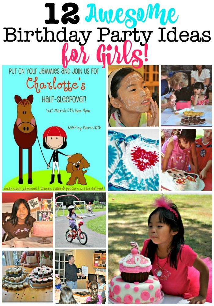 12 Awesome Birthday Party Ideas For Girls Birthday Party At Home Boy Birthday Parties Kids Birthday