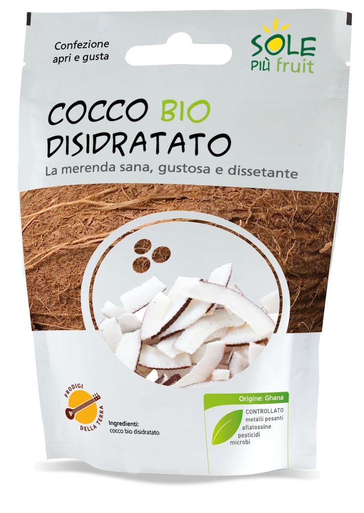 Sole Più Fruit  100% Cocco bio disidratato