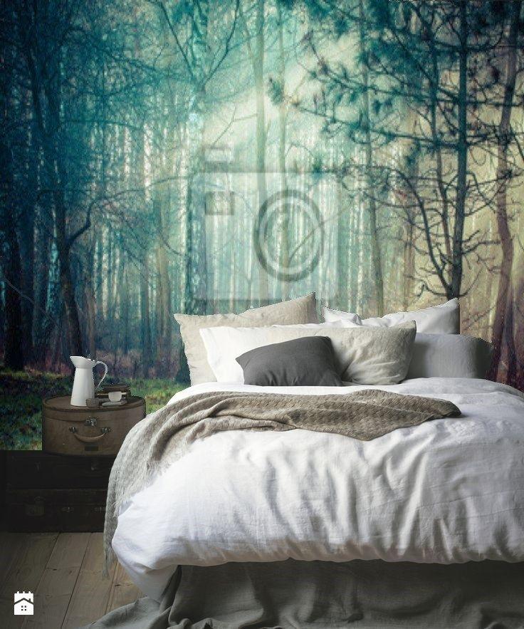 Fototapeta las w sypialni - zdjęcie od Ortons - Sypialnia - Styl Eklektyczny - Ortons