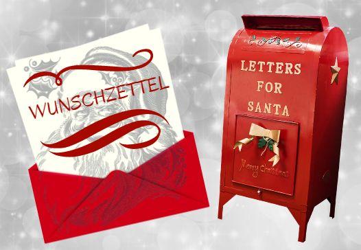 Wunschzettel an den Weihnachtsmann bzw. an das Christkind senden. Adressen vom Weihnachtsmann und Christkind in Deutschland.