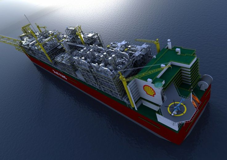 World's largest ship floated for the first time By Darren Quick December 4, 2013 Graphic of the Prelude FLNG-A hull longer than the Empire State Building is tall has been floated out of dry dock in Geoje, South Korea.