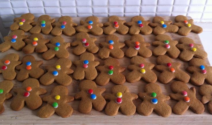 Gingerbread Men, Armadale VIC, December 2012
