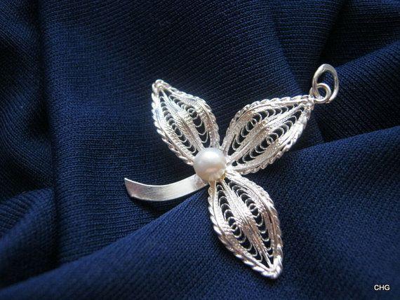 Wisiorek srebrny rękodzieło Malta upominek