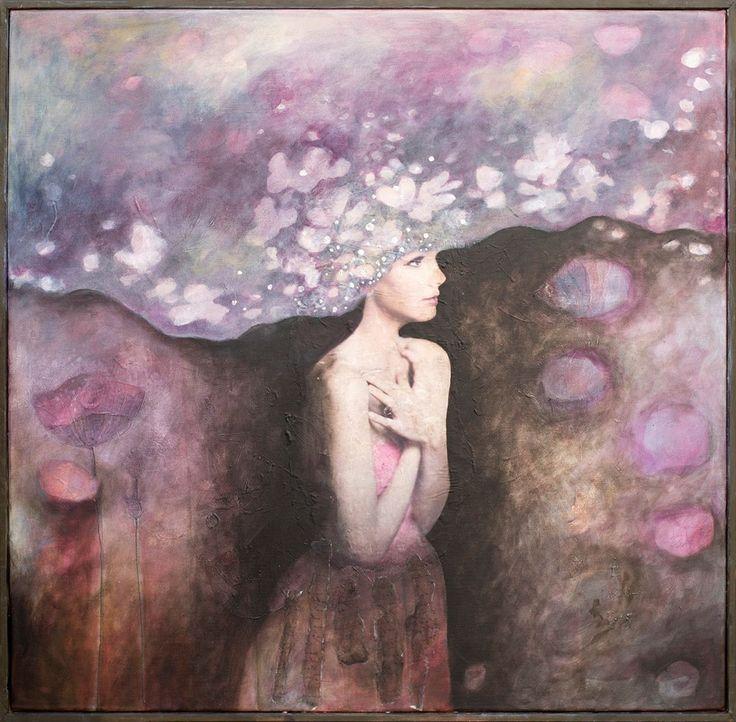 Introspection Mixed media/canvas 80/80 cm 2015