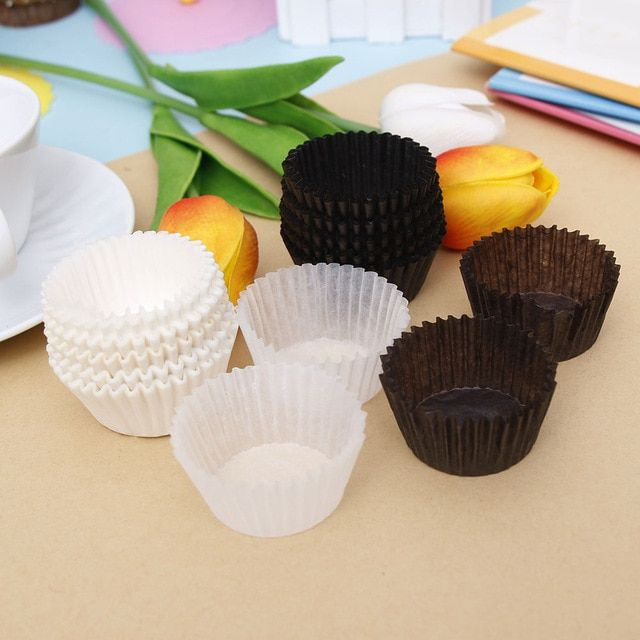 100pcs 3 5cm Small Mini Cupcake Liner Baking Cup Paper Muffin
