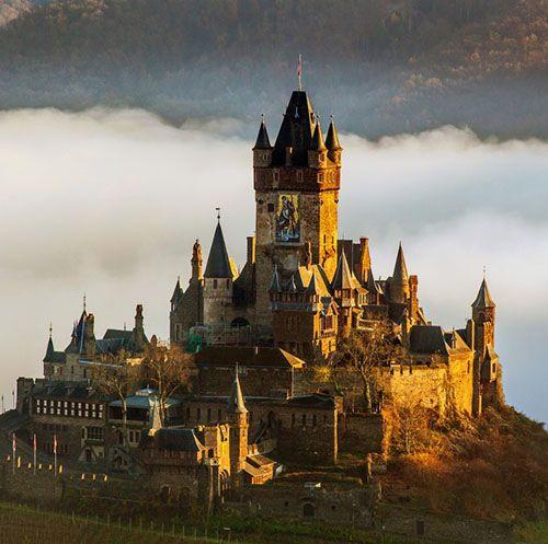 Cochem Castle,  Schlossstraße 36, 56812 Cochem, Germany.