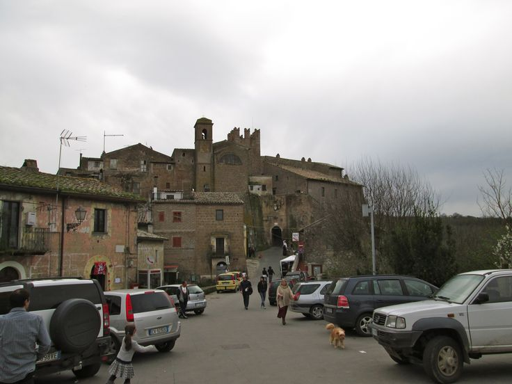 Entrance to Calcata
