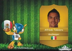 Alfredo Talavera - Mexico Player - FIFA 2014