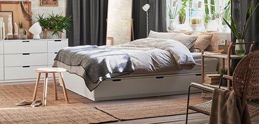 ikea nordli vit s ng med f rvaring v rt hem pinterest ikea sovrum och g ra om m bler. Black Bedroom Furniture Sets. Home Design Ideas
