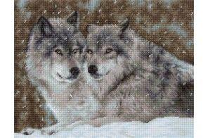 B2291 Два волка Luca-S набор для вышивки крестом