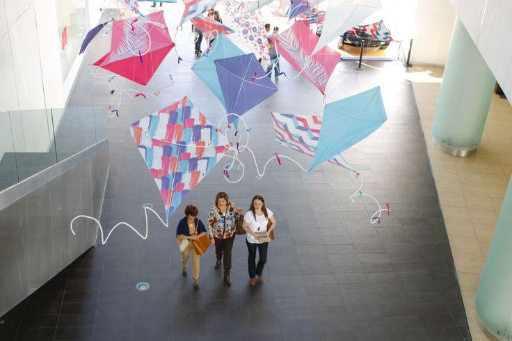 Kite Installation Andares Guadalajara Deco