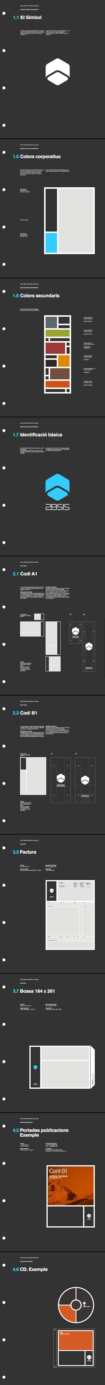 brand guideline /grid/ layout