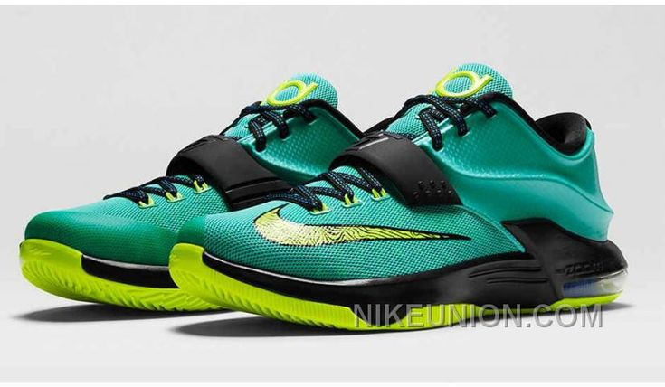 http://www.nikeunion.com/buy-real-nike-kd-7-hyper-jade-volt-black-photo-blue-653996-370-for-sale.html  BUY REAL NIKE KD 7 HYPER JADE VOLT BLACK PHOT…