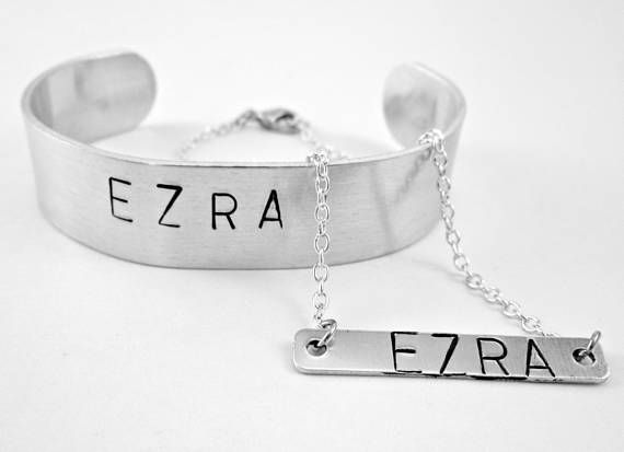 New Parent Gift Matching Couple Jewelry Personalized Couples