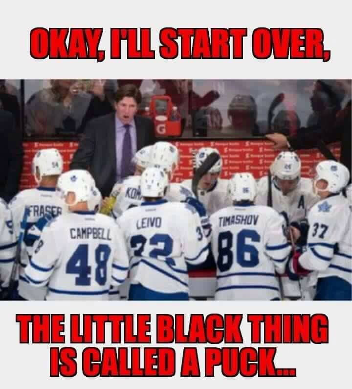 Bad leafs suck jokes girls
