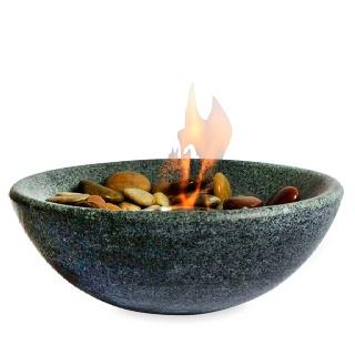 Granite table top fire bowl