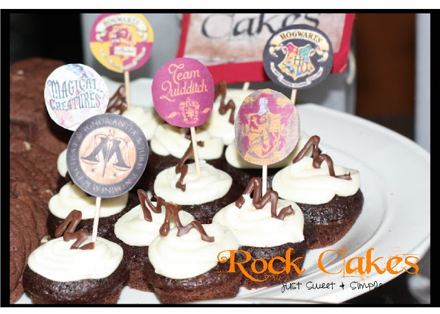 Harry Potter Rock Cakes
