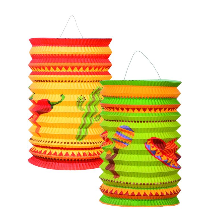 Lanterne di cartone in stile messicano su VegaooParty, negozio di articoli per feste. Scopri il maggior catalogo di addobbi e decorazioni per feste del web,  sempre al miglior prezzo!