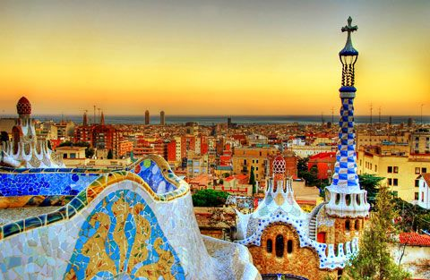 Parc Guell: Barcelona. Disneyland for grown-ups