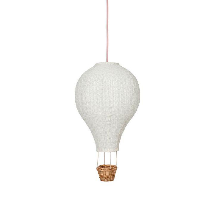Cam Cam luftballon lampe, rosa ledning - Køb direkte her | LirumLarumLeg