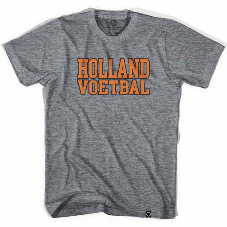 Holland Voetbal Vintage Soccer T-shirt