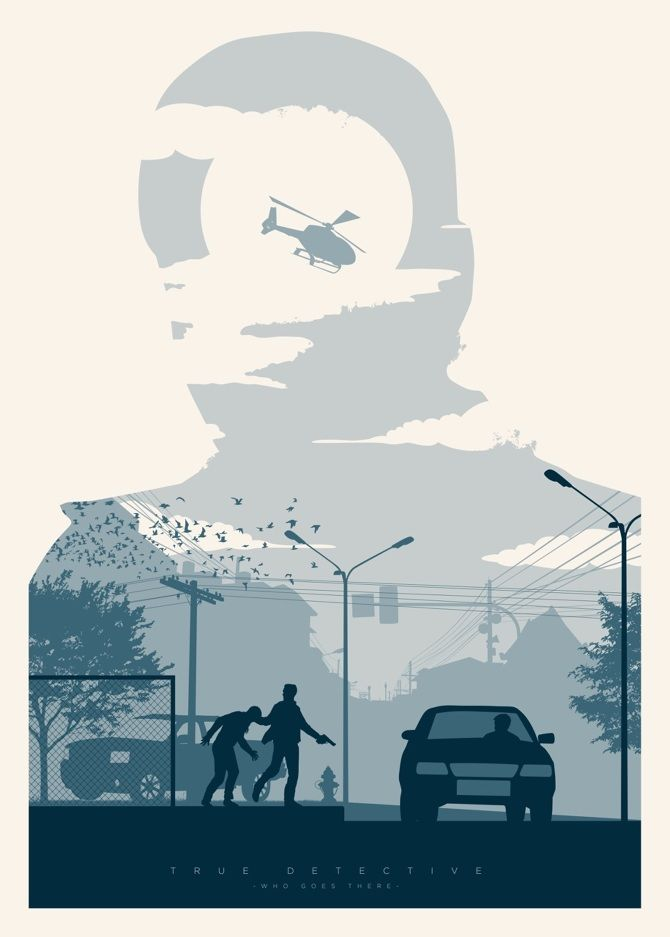 """True Detective · """"Who Goes There"""" - Javier Vera Lainez / Diseñador Gráfico"""