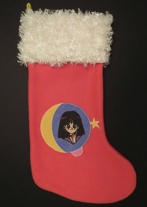 Sailor Mars Christmas Stocking