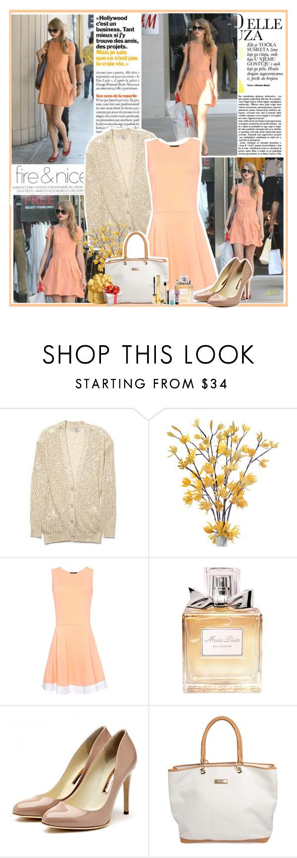 """#20 Shopping for birthday presents for your little brother"" by jesscullenbass ❤ liked on Polyvore featuring STELLA McCARTNEY, MANGO, Christian Dior, Rupert Sanderson, Yves Saint Laurent and taylor swift"