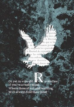 """""""There's nothing hidden in your head  The Sorting Hat can't see, So try me on and I will tell you Where you ought to be."""""""