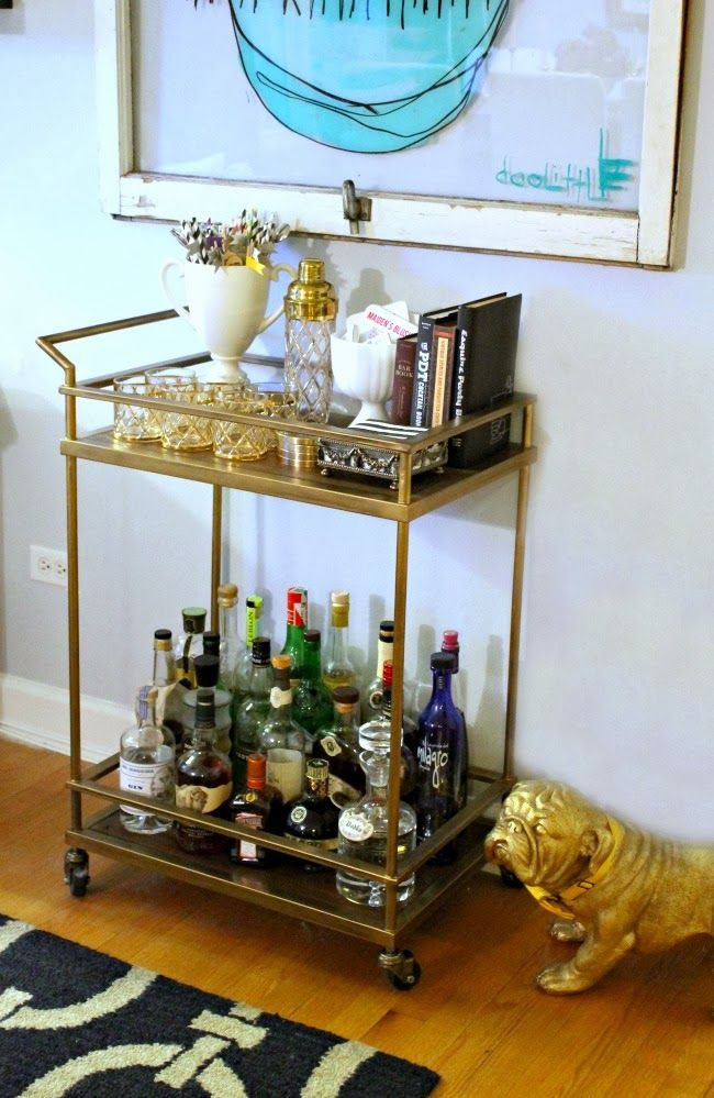 Fabulous 20 best Bar carts images on Pinterest | Bar carts, Bar cart and  OE28