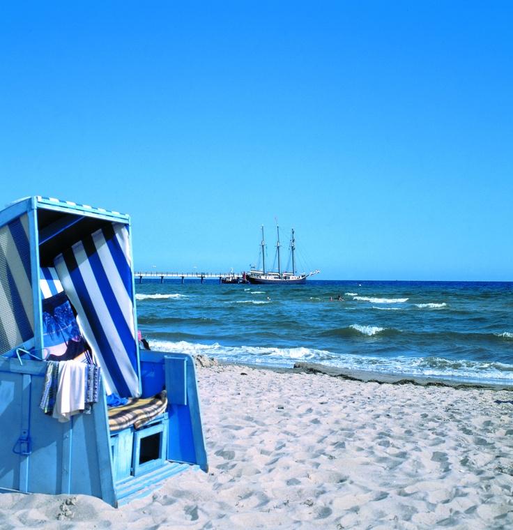 Kühlungsborn // Germany // Baltic Sea // Strandkorb