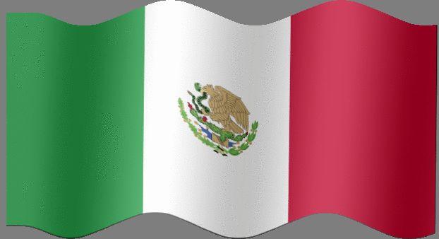 Resultado de imagen para mexico bandera gif