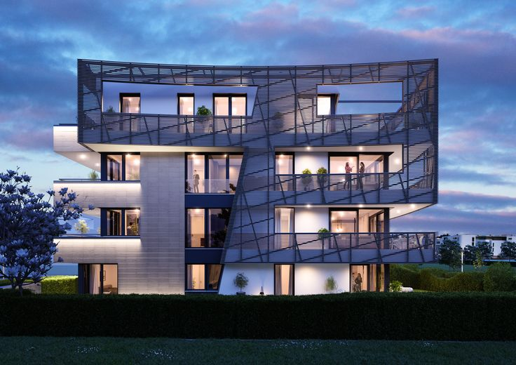 The outstanding ensemble is being built on Frankfurt's Riedberg, in the midst of a young, green and vibrant district.