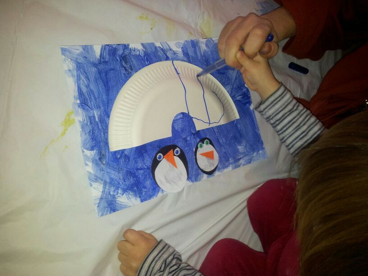 Winter crafts-penguins and igloos!