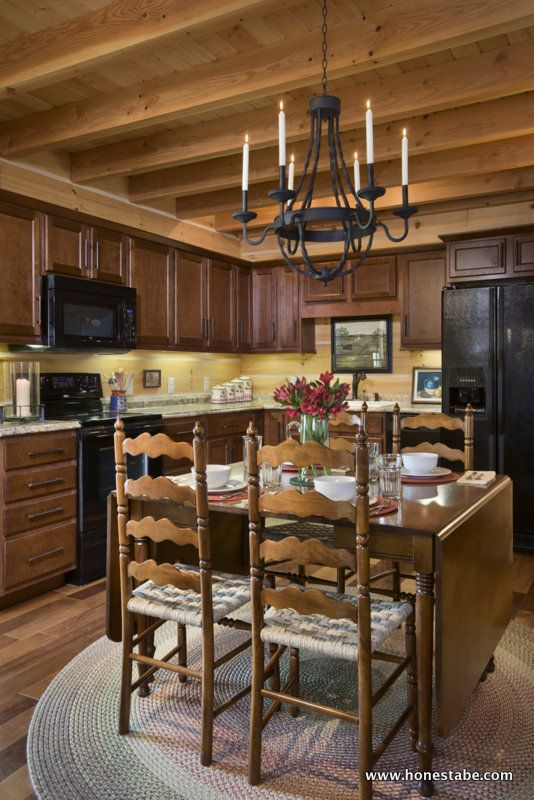 1000 Images About Kitchen Designs Honest Abe Log Homes