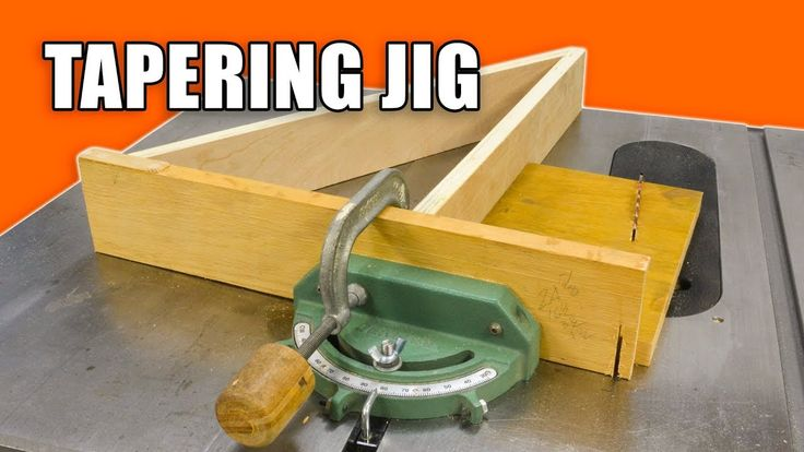 Mitre Gauge Tapering Jig for the Table Saw.
