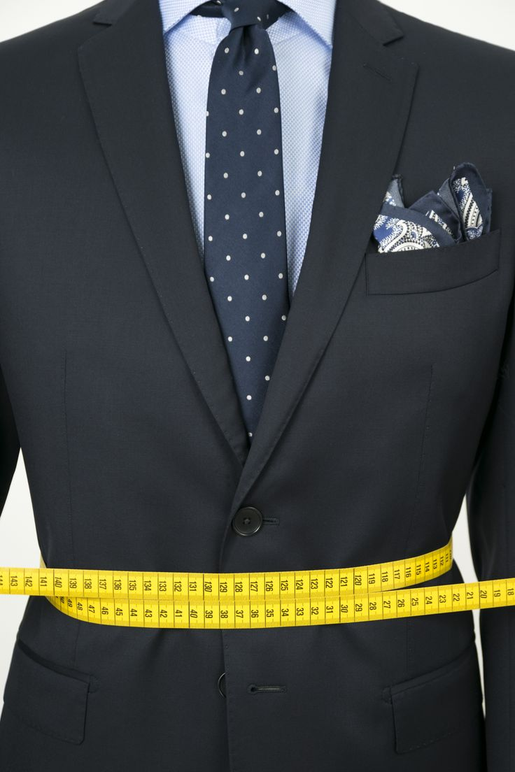 No restraints! The luxury of made to measure business Suits.