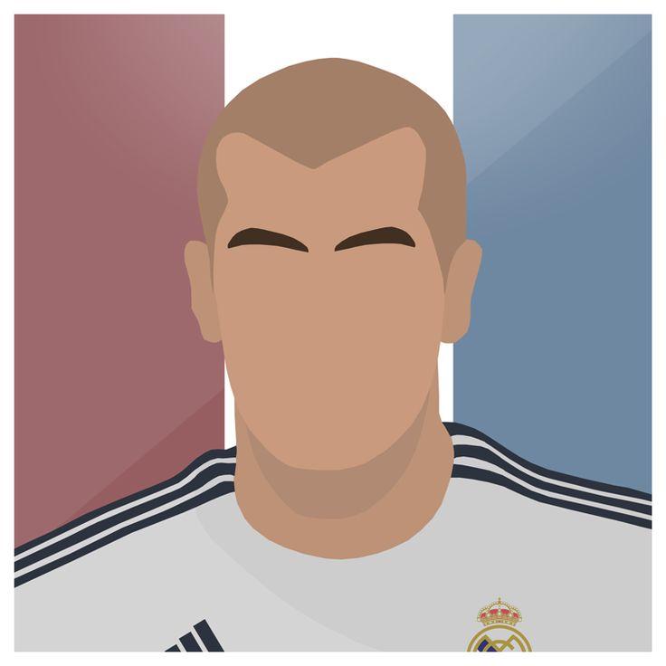 Zidane   #Legend #RealMadrid #Juventus #France #Zinedine #Zidane #Zizou #Marseille #Madrid #Spain #LosBlancos #Bernabeu #LaLiga #UCL #Graphic #Art #Vector #Illustrator #Photoshop #Sport #Football #Futbol