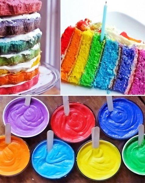 Торт Радуга или Rainbow Cake