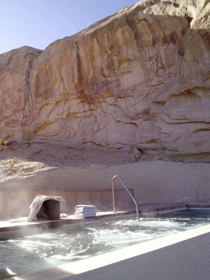 Amangiri: Resorts Hotels, Favorite Places, Amangiri Resorts, Spas, Hot Tubs, Pools, Amangiri Luxury, Hot Spring, Grand Canyon