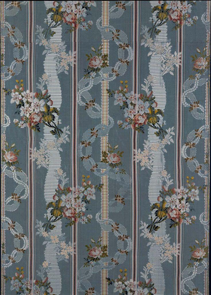 Dress fabric panel (one of five panels) | Museum of Fine Arts, Boston