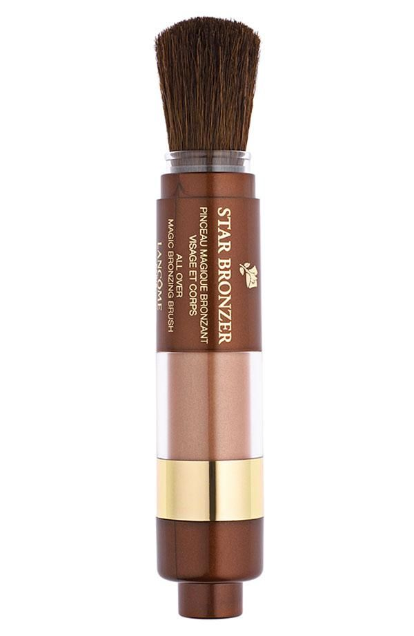 Sun-kissed bronzer and brush combined. Perfect for touch-ups on the go!Lancôme Stars, Bronzer Magic, Tropique Minéral, Makeup, Lancome Stars, Magic Bronze, Stars Bronzer, Bronze Brushes, Beautiful Products